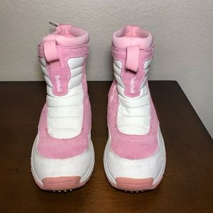 TIMBERLAND snow boots thermolite size 3.5 pink